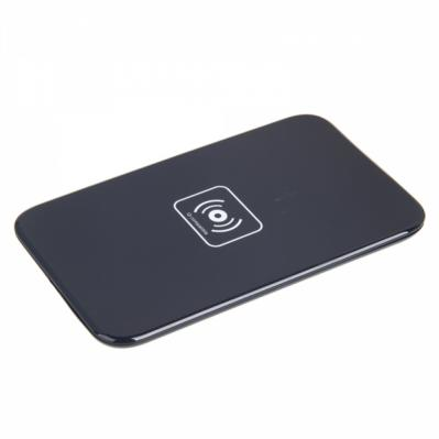 QI Wireless Charger with USB Cable Black