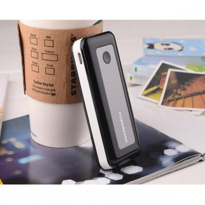 Mobile Power Bank 5600mAh Portable Charger LED Flashlight for Apple iPod Shuffle